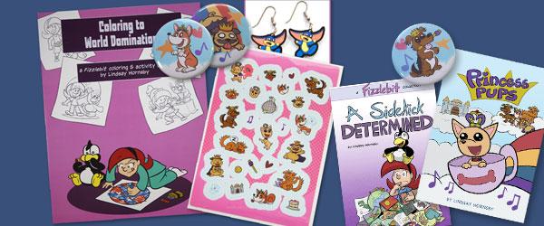 Link image for Fizzlebit & Princess Pups Shop